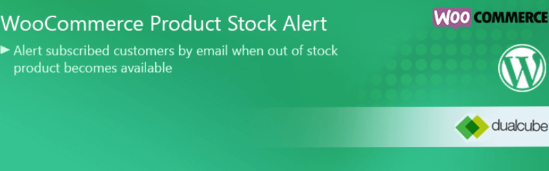 WooCommerce Extensions - WooCommerce Product Stock Alert