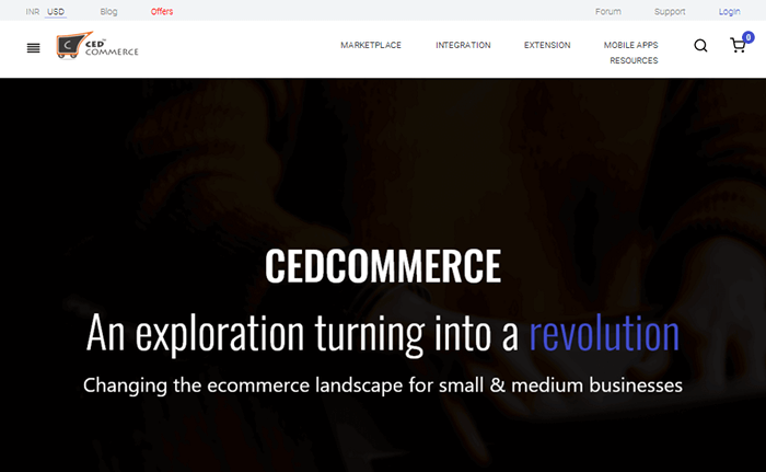CedCommerce Homepage