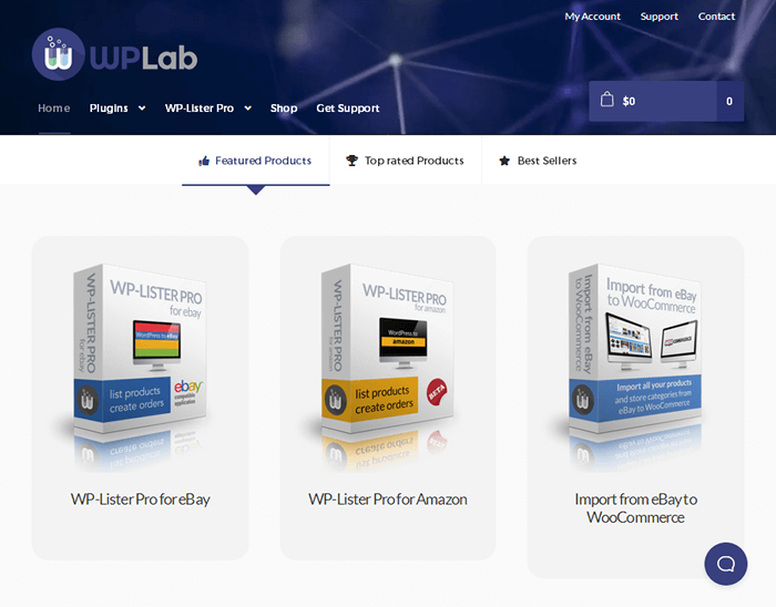 WP Lab Homepage