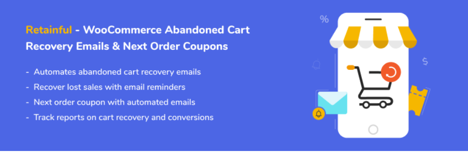 Best Cart Recovery Plugins for WooCommerce - Retainful