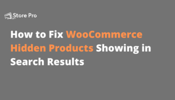 how to fix woocommerce hidden products