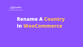 Rename A Country In WooCommerce