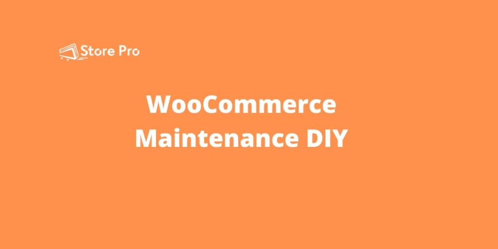 How To Do WooCommerce Maintenance [DIY Guide]